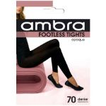 Picture of 70 Denier Footless tights Black