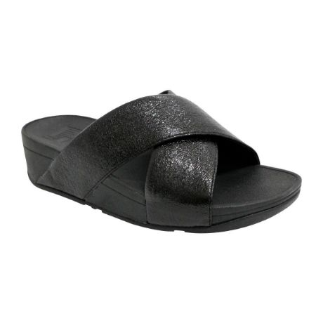 Picture of Lulu Slide New Glitz Black