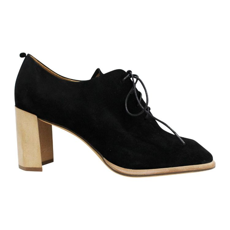 Picture of Belle Black Suede