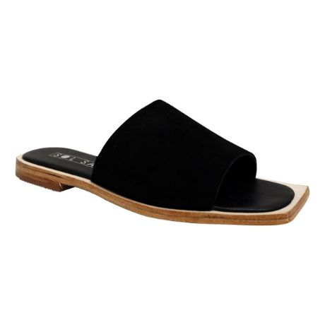 Picture of Madonna Slide Black Suede