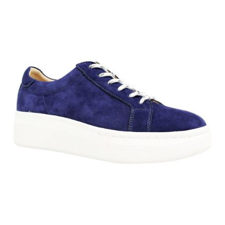 Picture of City Sneaker Navy Suede