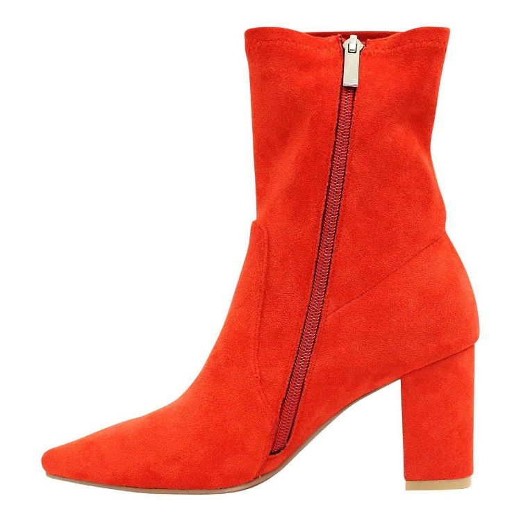 Picture of Nider Red Stretch Microsuede