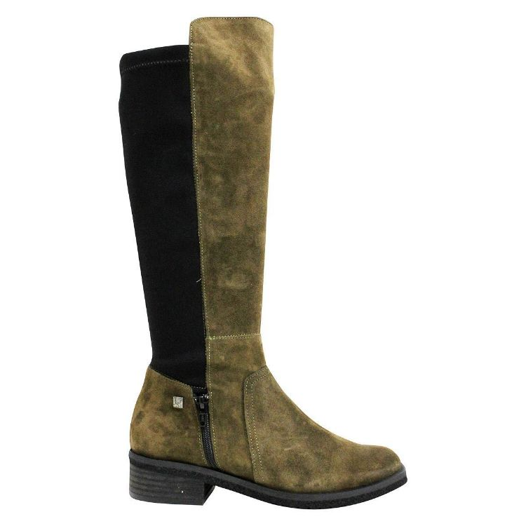 Picture of Js-2142 Khaki Suede Boots