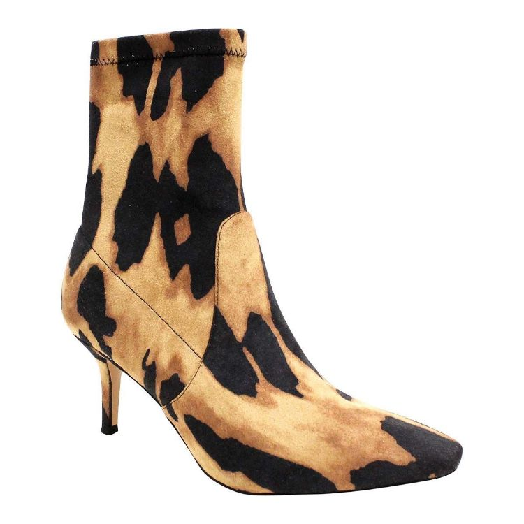 Picture of Laia Leopard Stretch Microsuede