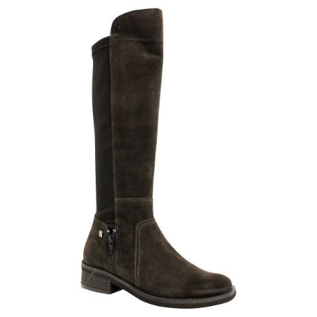 Picture of Js-2142 Chocolate Suede Boots