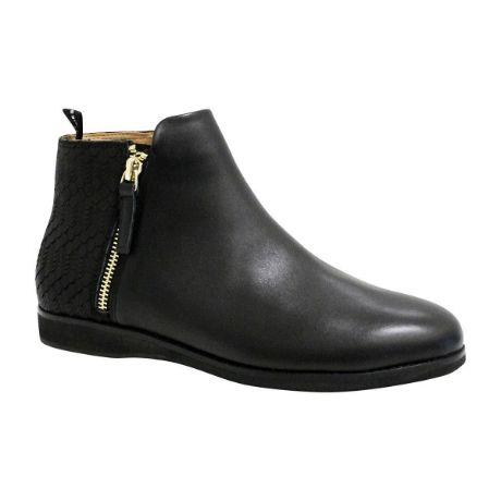 Picture of Side Zip Boot Black/Geo