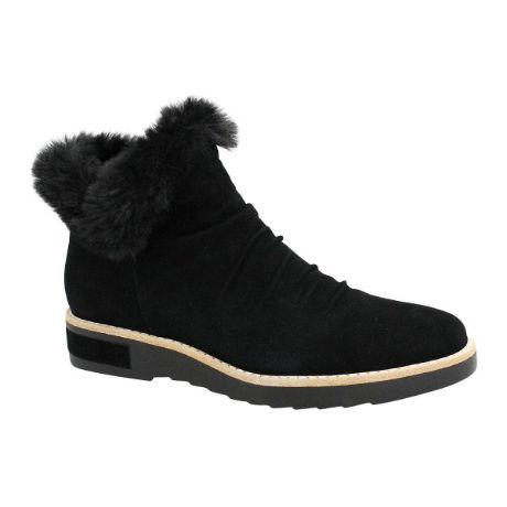 Picture of Rollinz Black Suede/ Black Fur